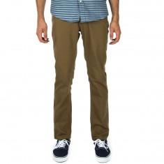 Brixton Reserve 5 Pocket Pants - Dark Khaki