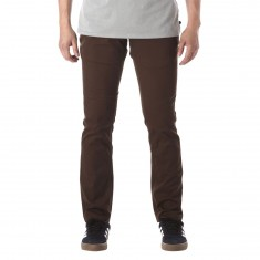 Brixton Reserve Chino Pants - Brown