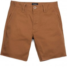 Brixton Toil II Standard Fit Chino Shorts - Bark