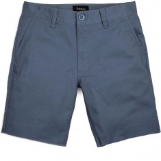 Brixton Toil II Standard Fit Chino Shorts - Grey Blue