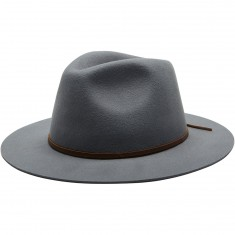 Brixton Wesley Fedora Hat - Light Grey