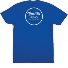 Brixton Wheeler T-Shirt - Royal