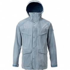 Burton Breach Shell Snowboard Jacket - LA Sky Distress