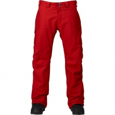Burton Cargo Mid Snowboard Pants - Process Red