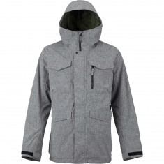 Burton Covert Shell Snowboard Jacket - Bog Heather