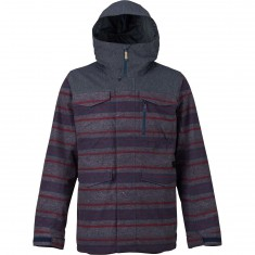 Burton Covert Shell Snowboard Jacket - Denim/Motor City