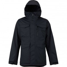 Burton Covert Shell Snowboard Jacket - True Black