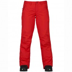 Burton Gloria Womens Snowboard Pants - Fiery Red