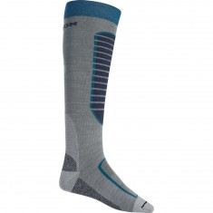 Burton Merino Phase Snowboard Socks - Monument Heather