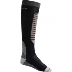 Burton Merino Phase Snowboard Socks - True Black