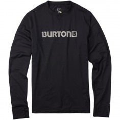 Burton Midweight Crew Snowboard Base Layer - True Black