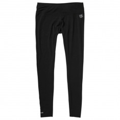 Burton Midweight Womens Snowboard Base Layer Pants - True Black