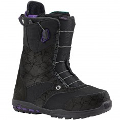 Burton Ritual Womens Snowboard Boots 2016 - Black/Grape