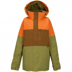 Burton Symbol Boys Snowboard Jacket - Safety Block