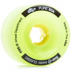 Bustin Five-O Longboard Wheels - 64mm 80a Green