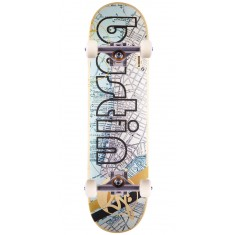 """Bustin Pro Skateboard Complete - NYC Map - 8.25"""""""