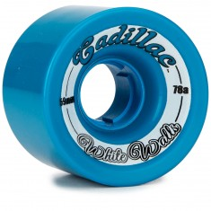 Cadillac White Walls Longboard Wheels - 59mm - 78a