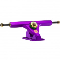 Caliber II Longboard Trucks - Satin Purple 44 Degree