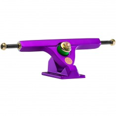 Caliber II Longboard Trucks - Satin Purple 50 Degree