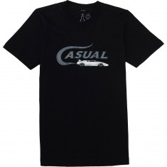 Casual Industrees Lambo Text T-Shirt - Black