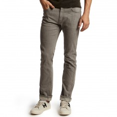 CCS Banks Straight Fit Jeans - Light Grey