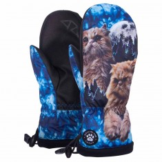 Celtek Bitten By A Mitten Womens Snowboard Gloves - Floyd The Lion
