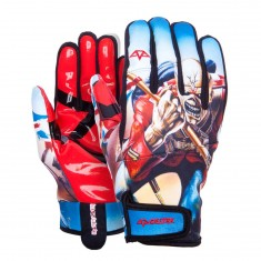 Celtek Misty Snowboard Gloves - Iron Maiden Trooper