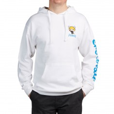 Chocolate X Sanrio Office Hoodie - White