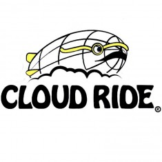 Cloud Ride Blimp Sticker