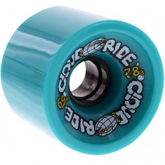 Cloud Ride Cruisers Longboard Wheels - Teal 69mm 78a