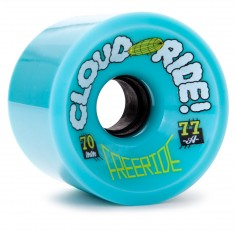 Cloud Ride Freeride Longboard Wheels - 70mm