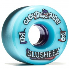 Cloud Ride Slusheez Longboard Wheels - 62mm 78a