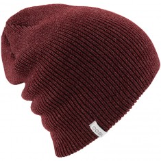 Coal The Frena Solid Beanie - Heather Burgundy