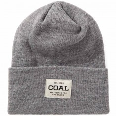Coal The Uniform Beanie - Heather Grey