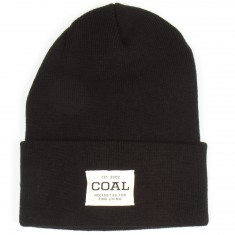 Coal The Uniform Beanie - Solid Black