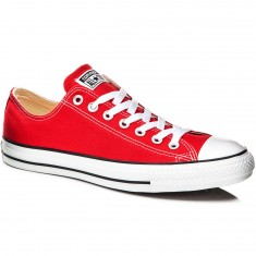 Converse Chuck Taylor All Star Lo Shoes - Red