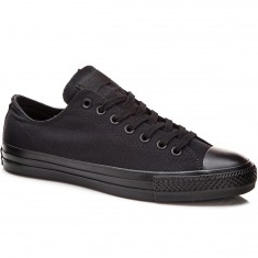 Converse CTAS Pro OX Shoes - Black/Black Canvas