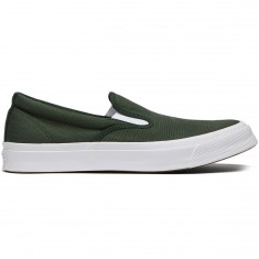 Converse Deckstar Pro Slip-On Aaron Herrington Shoes - Shadow Fir/White
