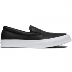 Converse Deckstar Pro Slip-On Jason Jessee Shoes - Black/Black/White