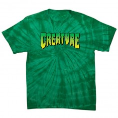 Creature Logo T-Shirt - Spider Kelly