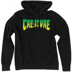 Creature Logo Pullover Hooded Sweatshirt - Black