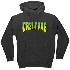 Creature Logo Pullover Hoodie -  Charcoal Heather