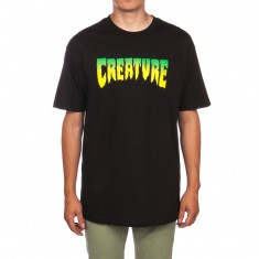 Creature Logo T-Shirt - Black