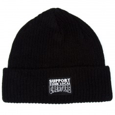 Creature Support Long Shoreman Beanie - Black