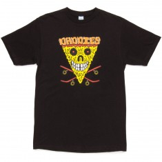 Daddies Board Shop Pizza Face T-Shirt - Black