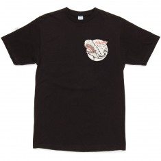 Daddies Board Shop The Whale T-Shirt - Black