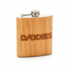 Daddies Board Shop Wood Flask - Cherry