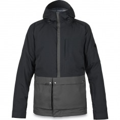 Dakine Dillon Snowboard Jacket - Black/Shadow