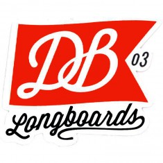 DB Flag Logo Sticker