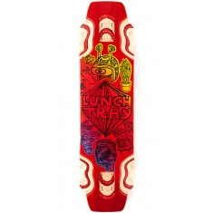 "DB Lunch Tray 36"" Longboard Deck - Red"